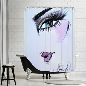 Landen Give the Single Look Shower Curtain